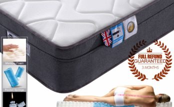 Pocket Sprung Mattress with Memory Foam