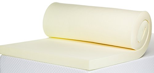 Bodymould Memory Foam Mattress Topper, 3 inch - UK Double