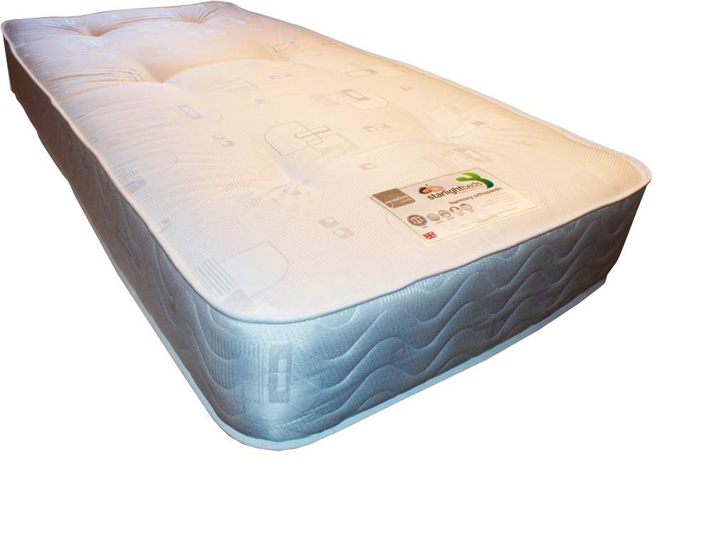 Starlight Beds Luxury 3ft single mattress, fast to all UK postcodes excludes Scottish highlands and off shore Isles