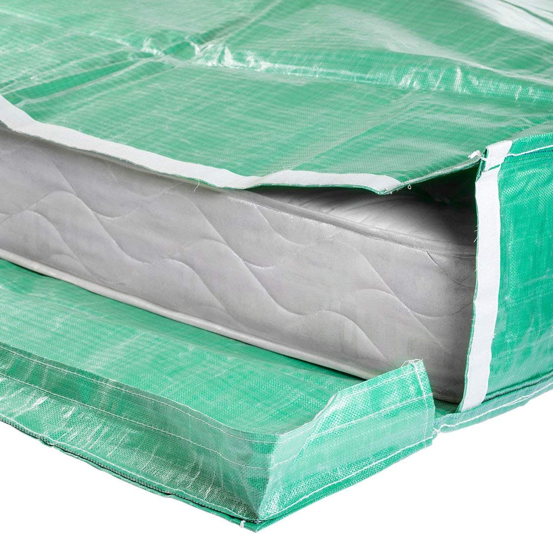Protective Mattress Bags with Handles - Moving and Storage - Reusable (Double)
