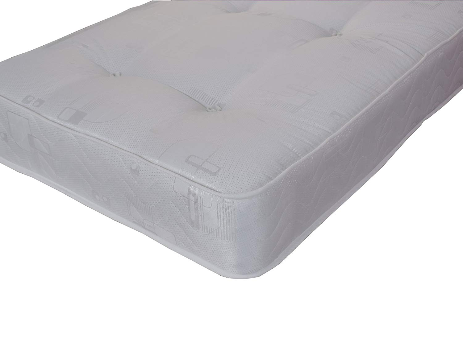 single 3ft mattress 90 x 190 (cm) Harmony deep hand tufted luxury mattress FBR1347