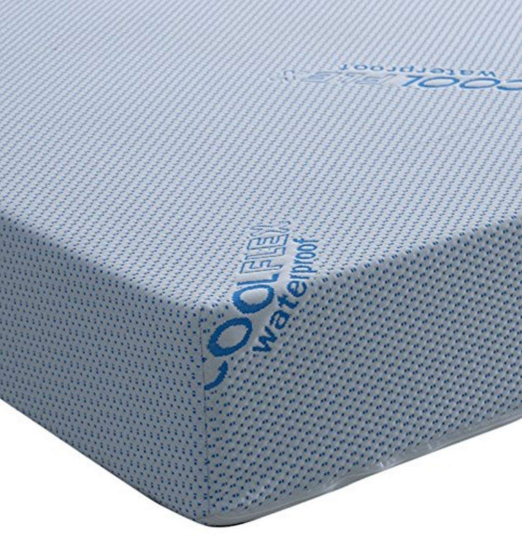 Visco Therapy Waterproof Luxury Reflex Foam Rolled Mattress Breathable Coolflex Cover, 3 Feet, Single