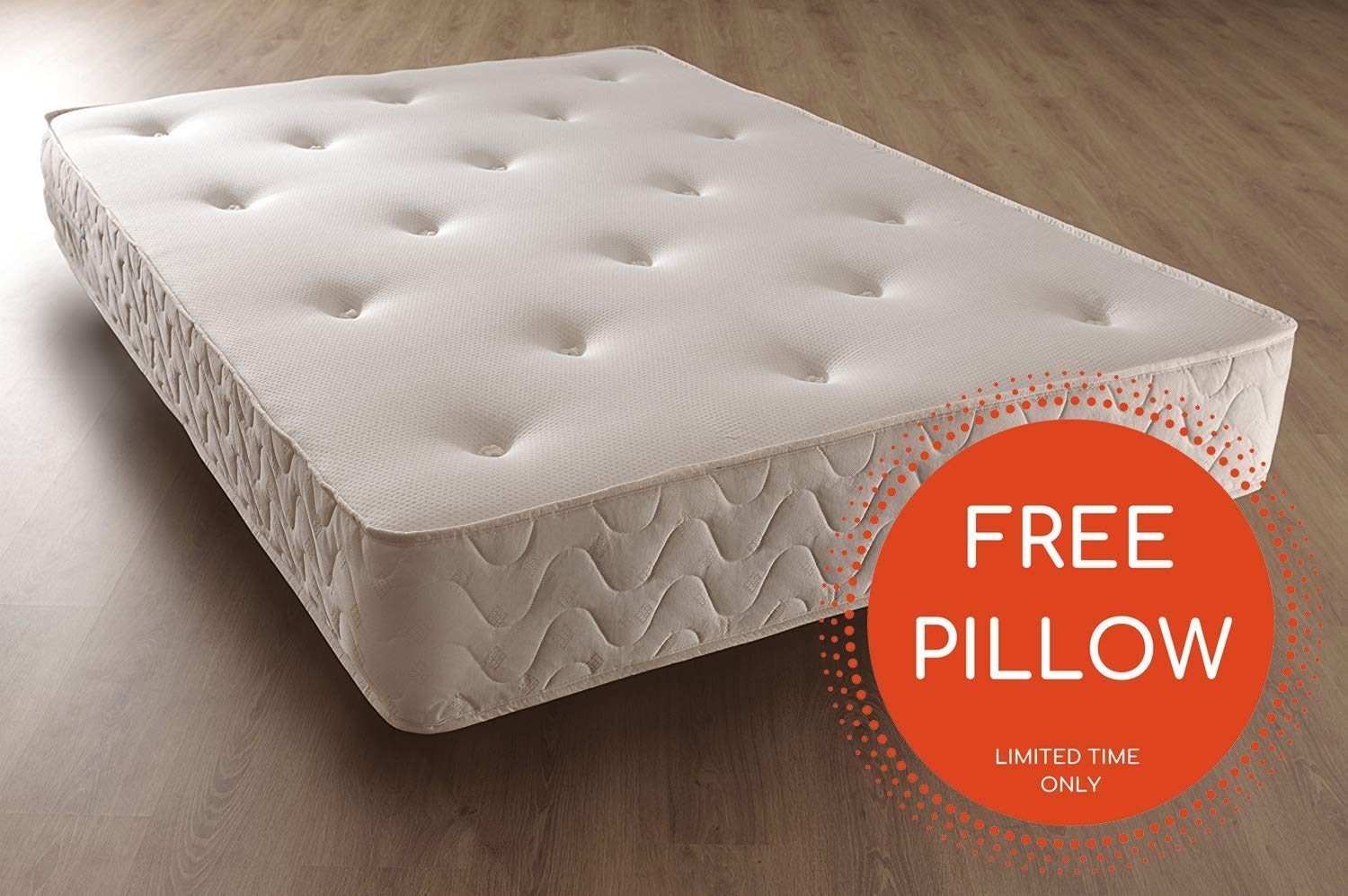 Comfy Living LUXURY 5FT KING SIZE MEMORY ORTHO MATTRESS 10