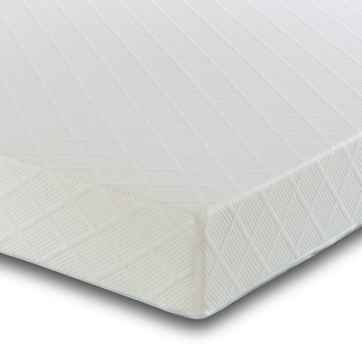 Visco Therapy 4Ft6 Double Reflex Foam Mattress with Two Pillows - Orthopaedic Support - Hypoallergenic – Firm