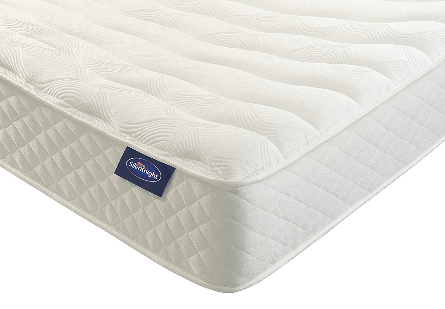 Silentnight Memory Foam Mattress | Zoned Spring System | Cocooning Memory Foam | Quilted Cover | Medium – Double