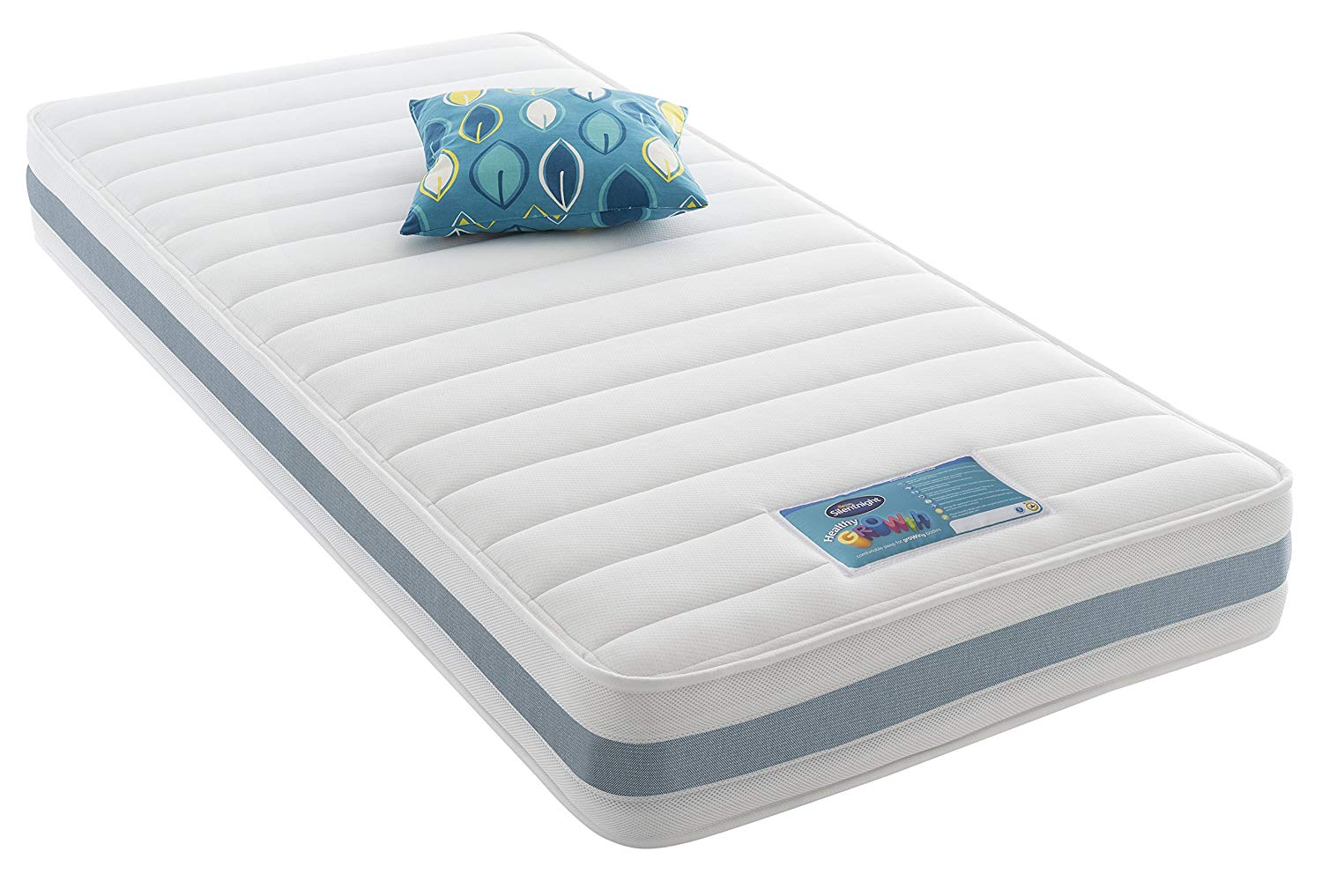 Silentnight Healthy Growth Junior Extra Comfort Kids Mattress - Single, Blue