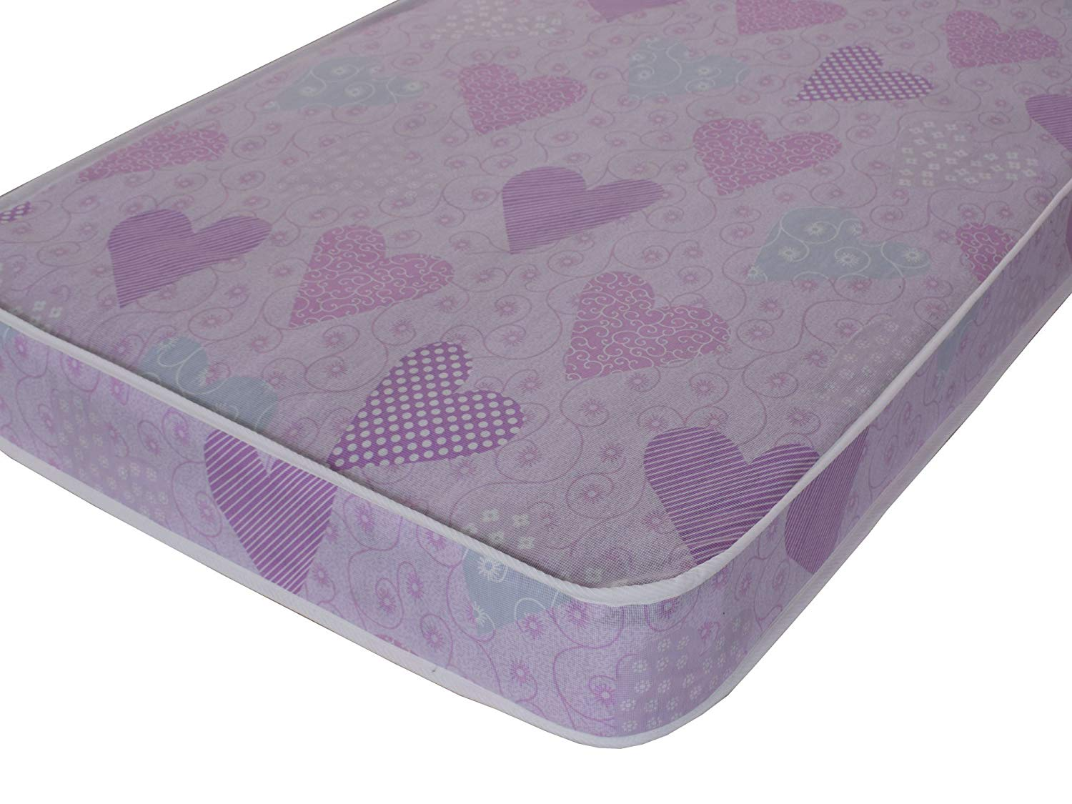 eXtreme Comfort Ltd 3ft Standard Size Pink Economy Mattress, single mattress with fast delivery