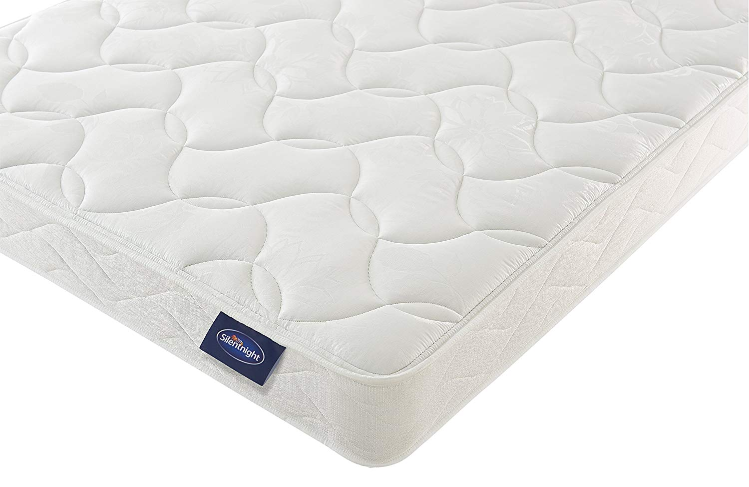 Silentnight Sprung Mattress | Zoned Spring System | Quilted Cover | Firm - Small Double