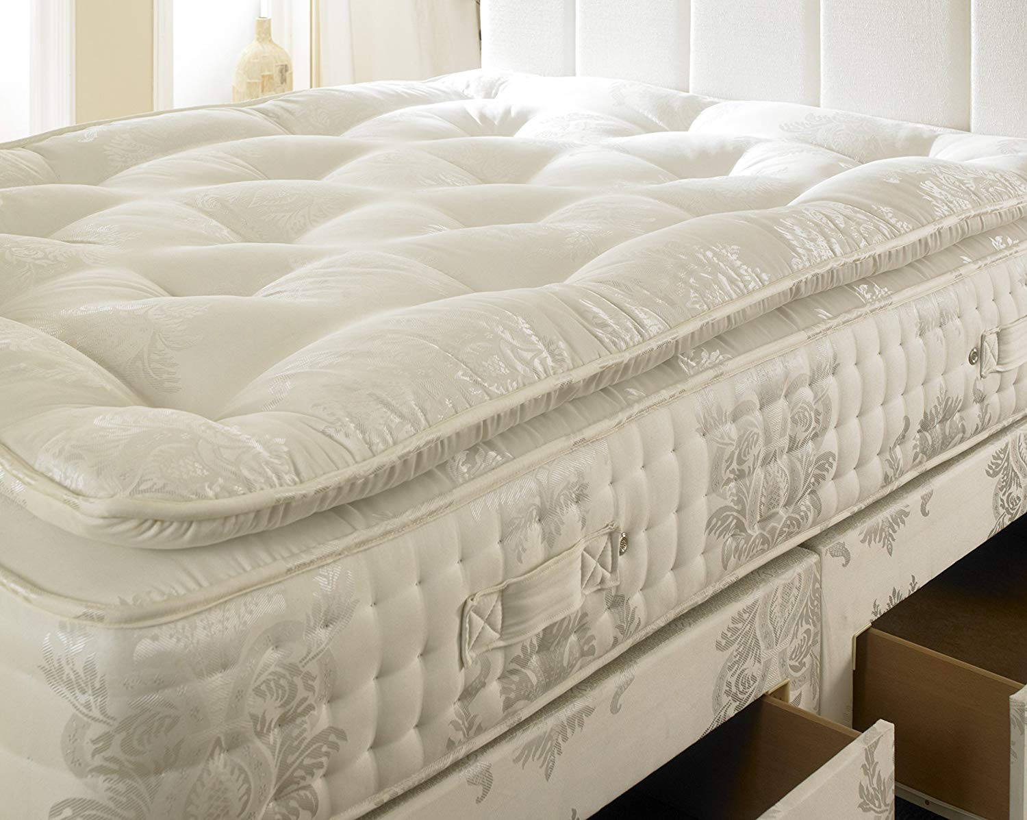 Visco Therapy Deluxe Reflex Coil Spring Rolled Mattress – Double