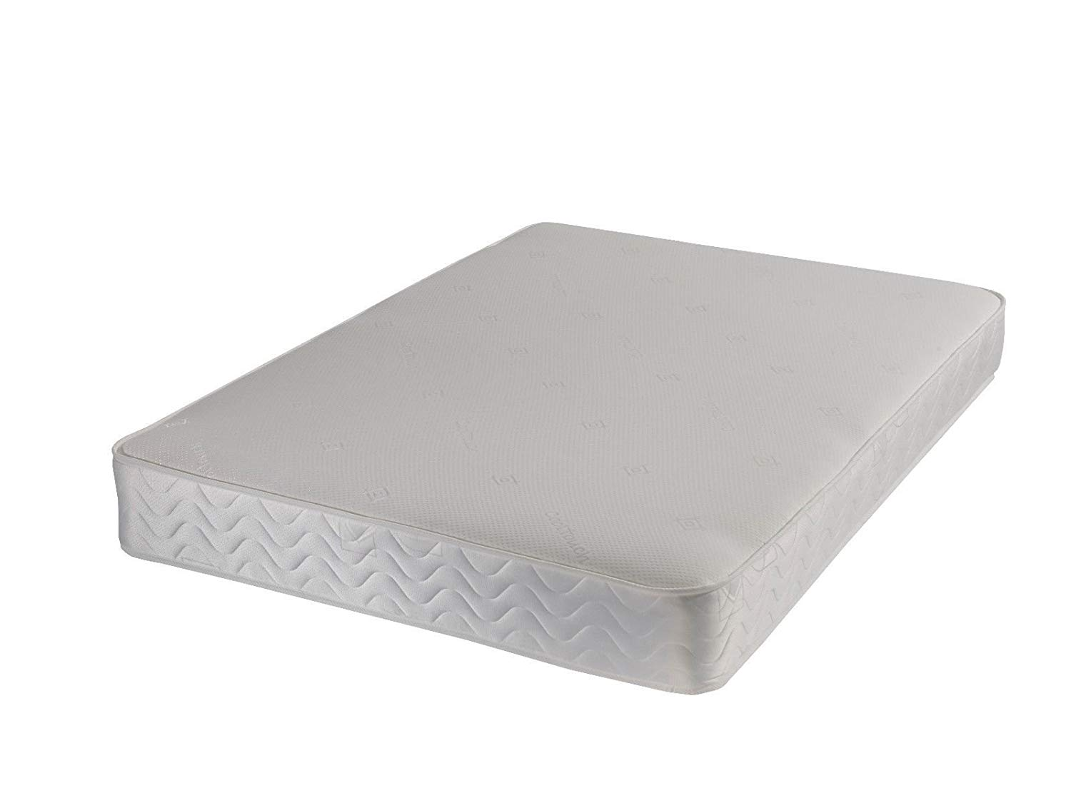 Memory spring cool touch orthopaedic mattress - Damask cover - 4ft6 double