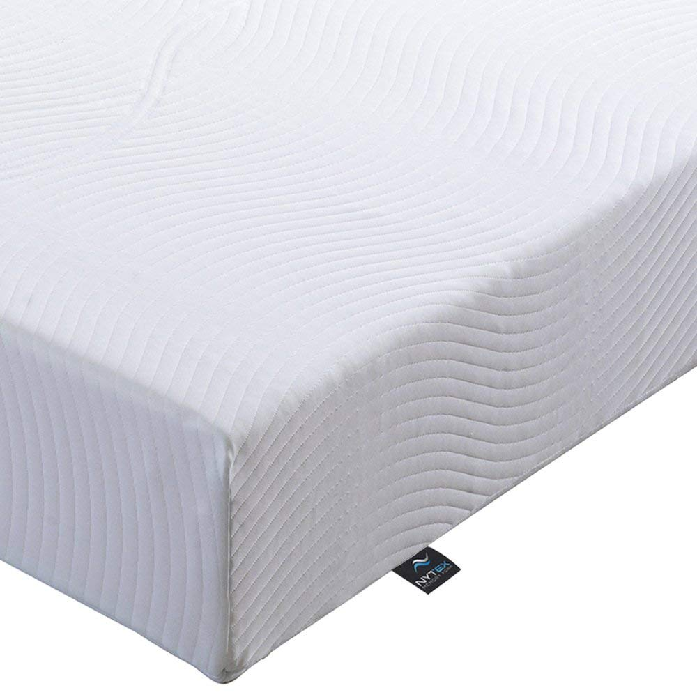 Nytex LIFE Memory Foam Mattress, 7-Zone, Double 4ft6, Made in the UK