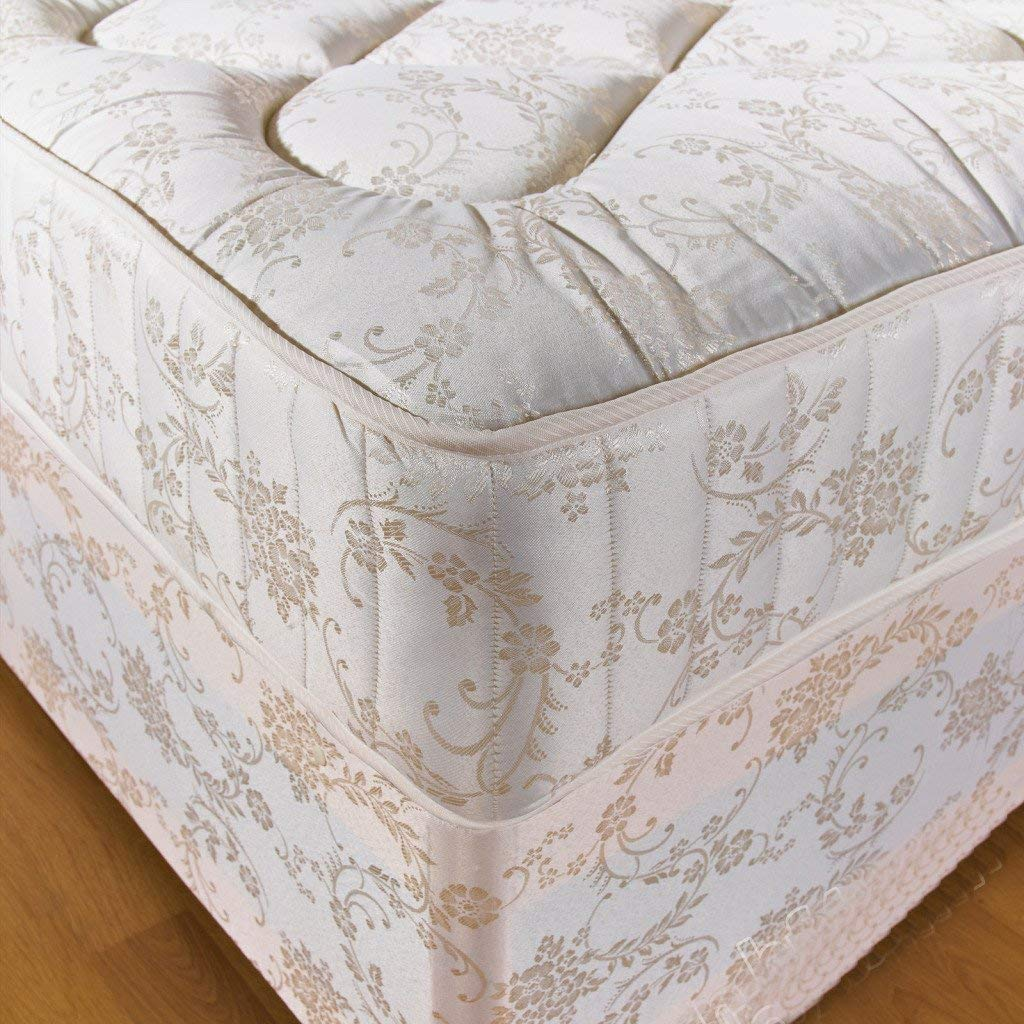 Hf4you 6Ft Super Kingsize 10 Inch Orthopaedic Deep Quilted Damask Mattress