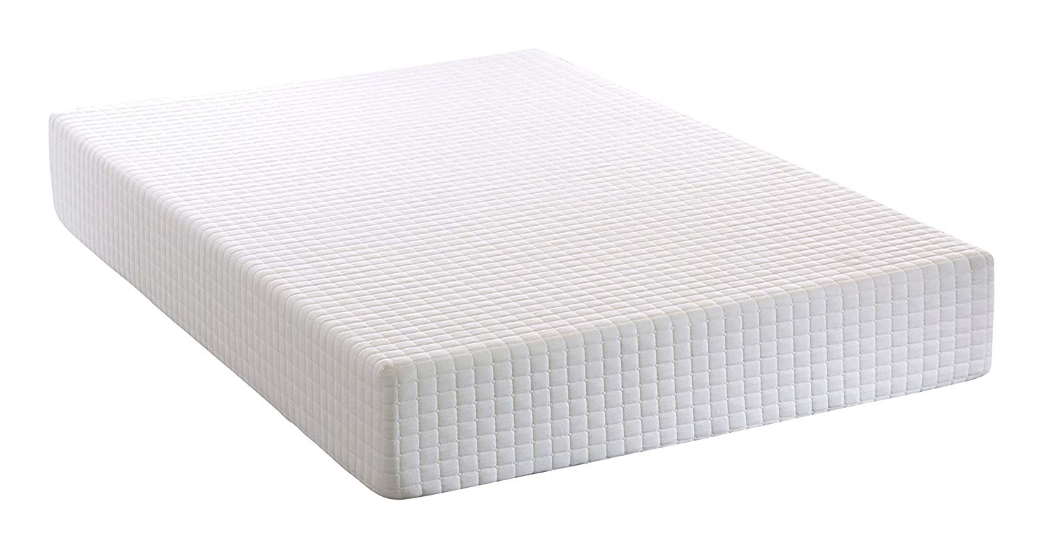 Visco Therapy HL2000 Firm Memory Foam Rolled Mattress with Quilted Cover – Double
