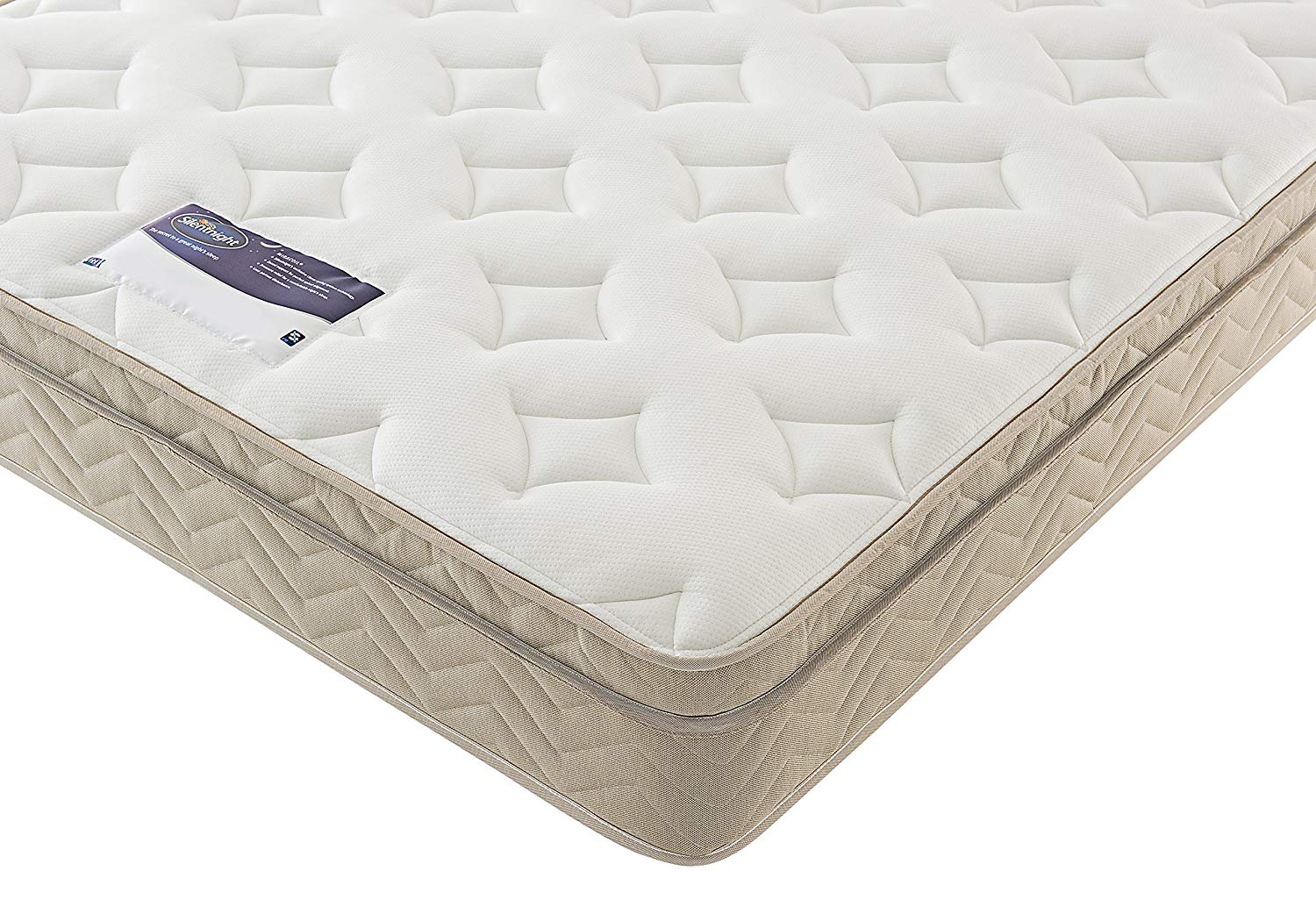 Silentnight Miracoil Memory Cushion Top Mattress – Double